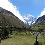 Starting up the valley toward Salkantay