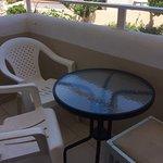 Sacallis Inn 1-2 star Hotel small balcony