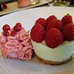 cheesecake pistache framboise