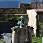 Important Italian people were buried here like Carlo Collodi, creator of Pinocchio