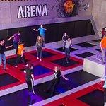 400 m2 trampoline