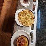 Crème brûlée tarte aux pommes