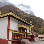 The smaller gompa at Lachung