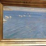Krøyer: Fiskerbåde ved Amalfi