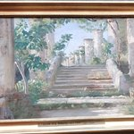 Krøyer: Loggia i Ravello