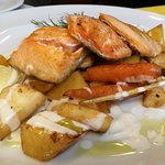 Chargrilled Arctic char from Lapland