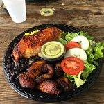 White Chicken Platter