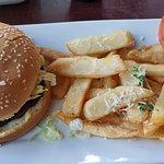 Red Robin Bacon & Cheese Burger