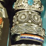 Of course, native american handcrafted silver jewelry makes a great gift and is unique to the we