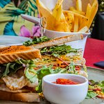 Clubsandwich & French Fries