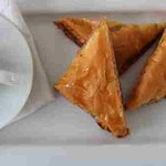 Ubuntu baklava - made with local honey, toasted walnuts and paper-thin phyllo and baked golden b