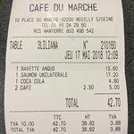صورة فوتوغرافية لـ Café du Marché