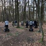 Segway fahren im Wald macht doppelt Spaß