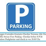 We Offer Free Parking To All Our Customers