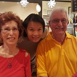 My wife and I with Jenny Chou