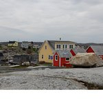 The village of Peggy's Cove ...