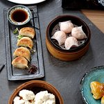 Some of our wide selection of dim sum - freshly made ever day by our chefs.