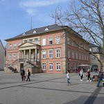 Detmold, Old Town, Market Square with Town Hall (Tourist Office)