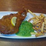 Overcooked fish & chips