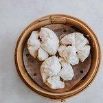 Char siu bao (roast pork buns).