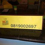 В отеле бесплатный Wi Fi