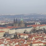 View from petrin tower Feb18