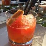 Vodka campari appelsin.