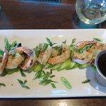 grilled shrimp & zucchini