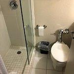 Tiny, tiny, tiny bathroom in all respects.