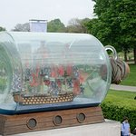 National Maritime Museum - Ship in Bottle