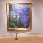 Large canvases full of water lily paintings and more