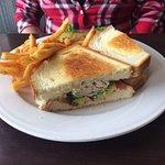 Fiesta turkey sandwich