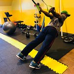 Stretching with the TRX