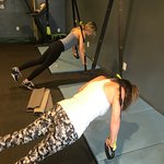 Core work with the TRX