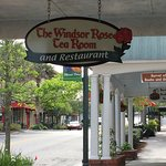 Windsor Rose Tea Room porch area