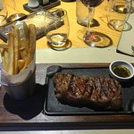 Sirloin strip steak