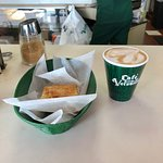 Cuban coffee and pastry