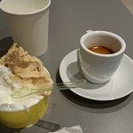 Espresso and my Caramel & Cream gelato