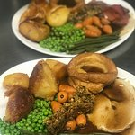 Freshly cooked every Sunday using locally sourced meat and veg