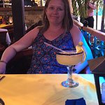 The guacamole was really good.  The margarita was ok.. expensive around 15 American dollars.  Fo
