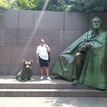 Franklin Delano Roosevelt Memorial Photo