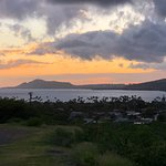 Sunsetting over Diamond Head Crater.