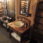"Sink in ""old house room w/o bath"""