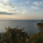 Niagara escarpment.  View from Sven's Bluff