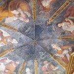 Soffitto affrescato interno al monastero
