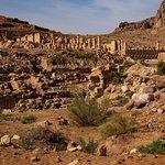 Old Pillars in Petra
