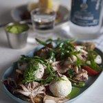 Mediterranean Squid Salad
