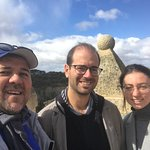 The Doctor and wife visiting Segovia. Nice day