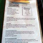 desserts & more menu page