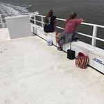 Upper deck of Ferry